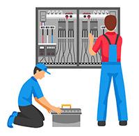 присоединение к электрической сети